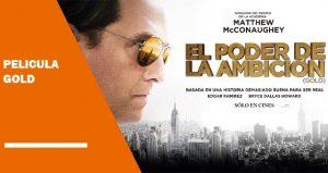 Ver película gold online